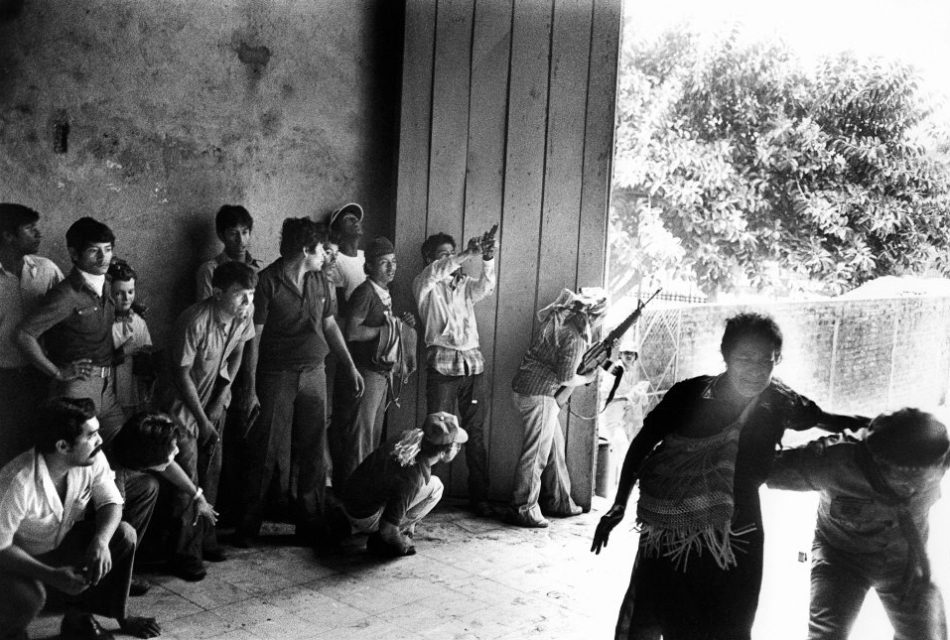 El Salvador, San Salvador, 1980. During the funeral of archbishop Romero snipers open fire at the mourning crowd.
