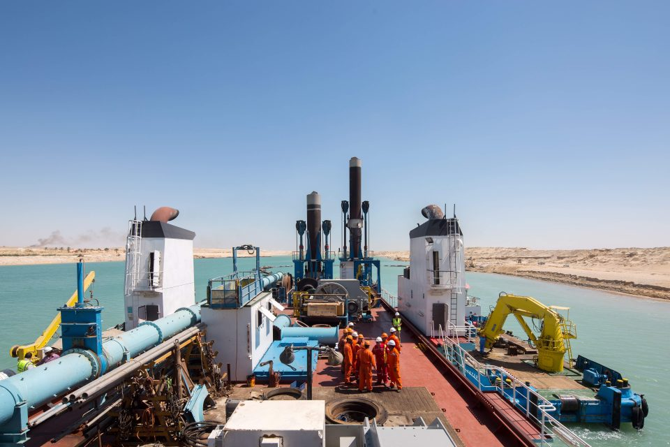 The New Suez Canal