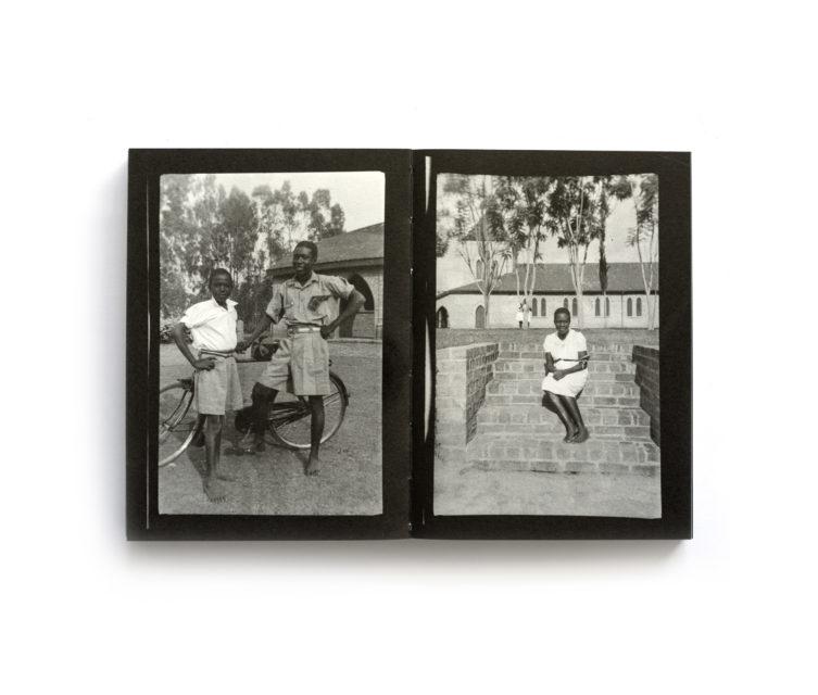 Spread from Ebifananyi 1: People Poses Places