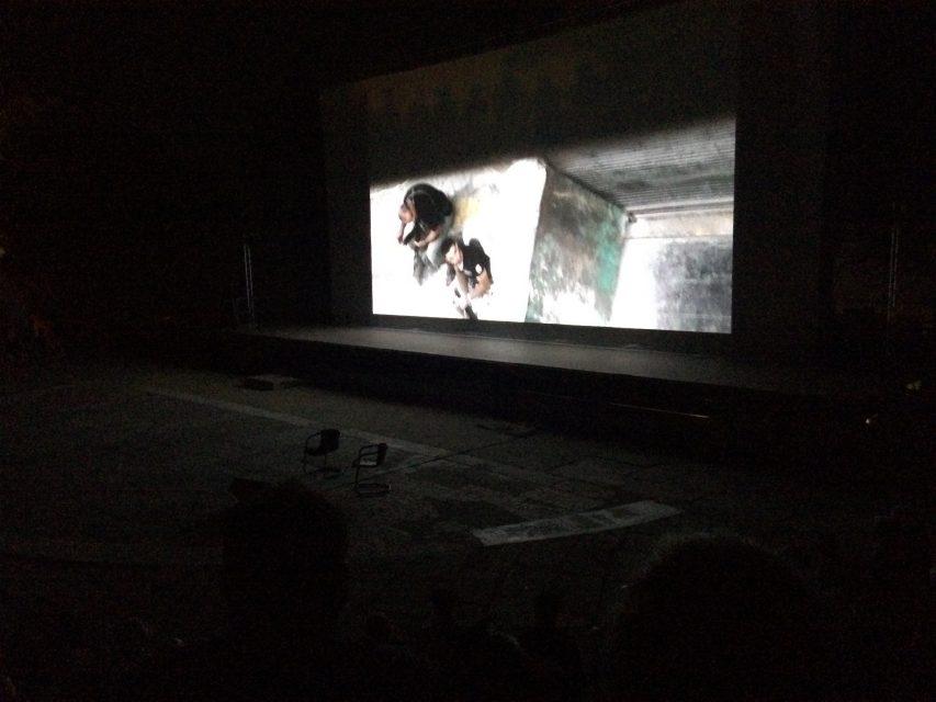 Screening 9 Days at Les Rencontres d'Arles, July 2016