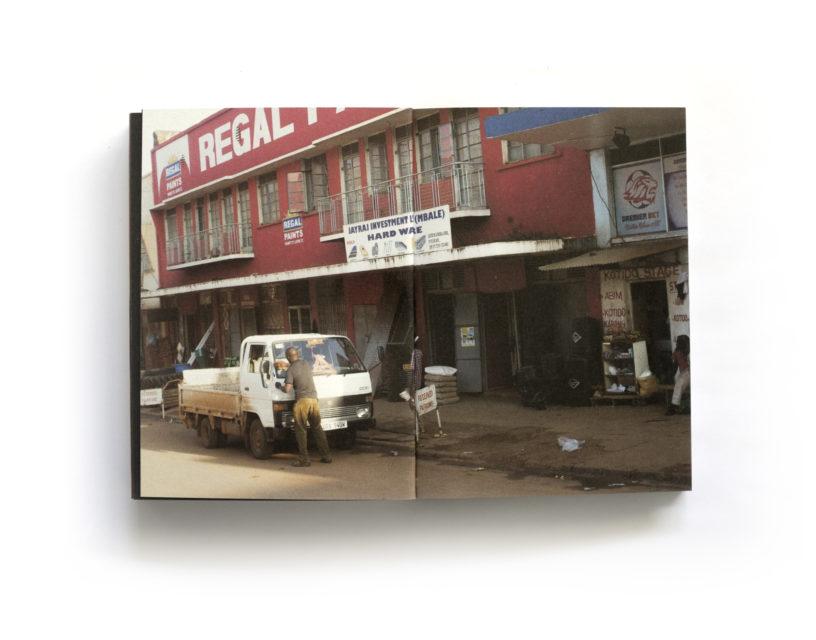 Spread from Ebifananyi 5: UHURU minor accidents