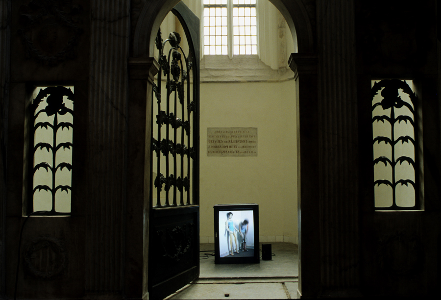 Jemina Brown, Pumping Up Dolly Brown, 1997, at the Oude Kerk