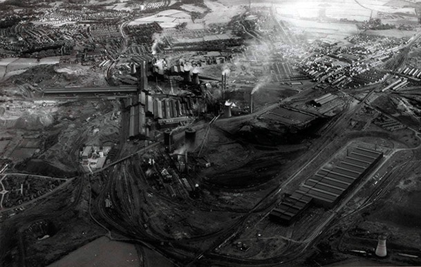 Steelworks, Great Britain, 1990