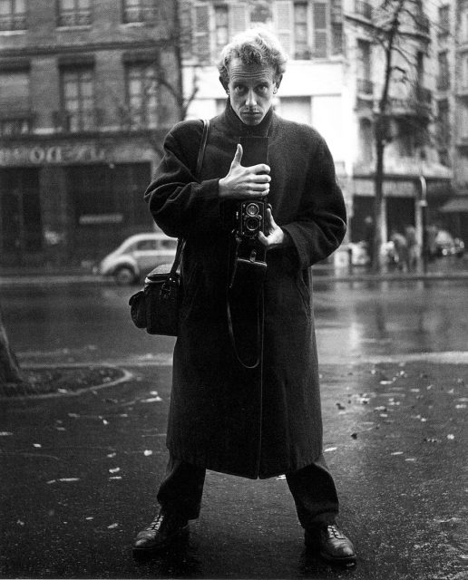 Selfportrait, Paris, 1951