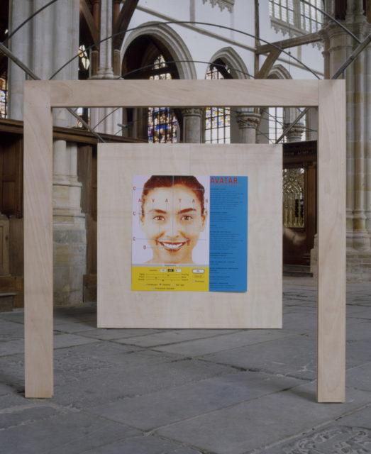 Avatar installation view, Oude Kerk, Amsterdam