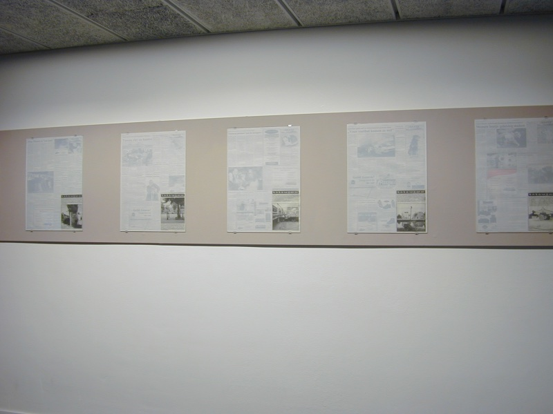 Korrie Besems, P'REND Remembers, installation view