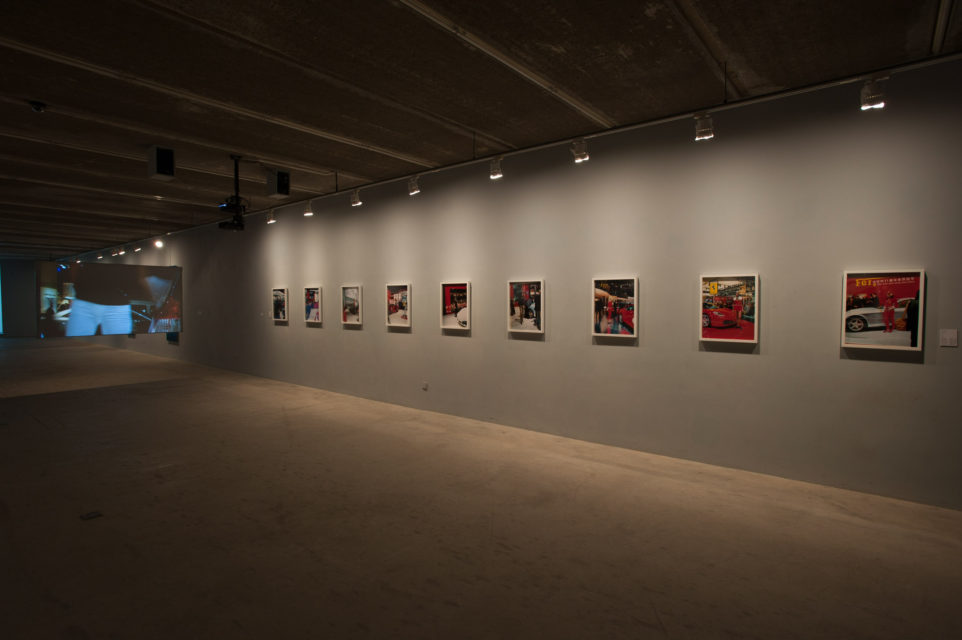 Installation shot of WATW at Three Shadows Photography Art Centre, Beijing (2009-2010).