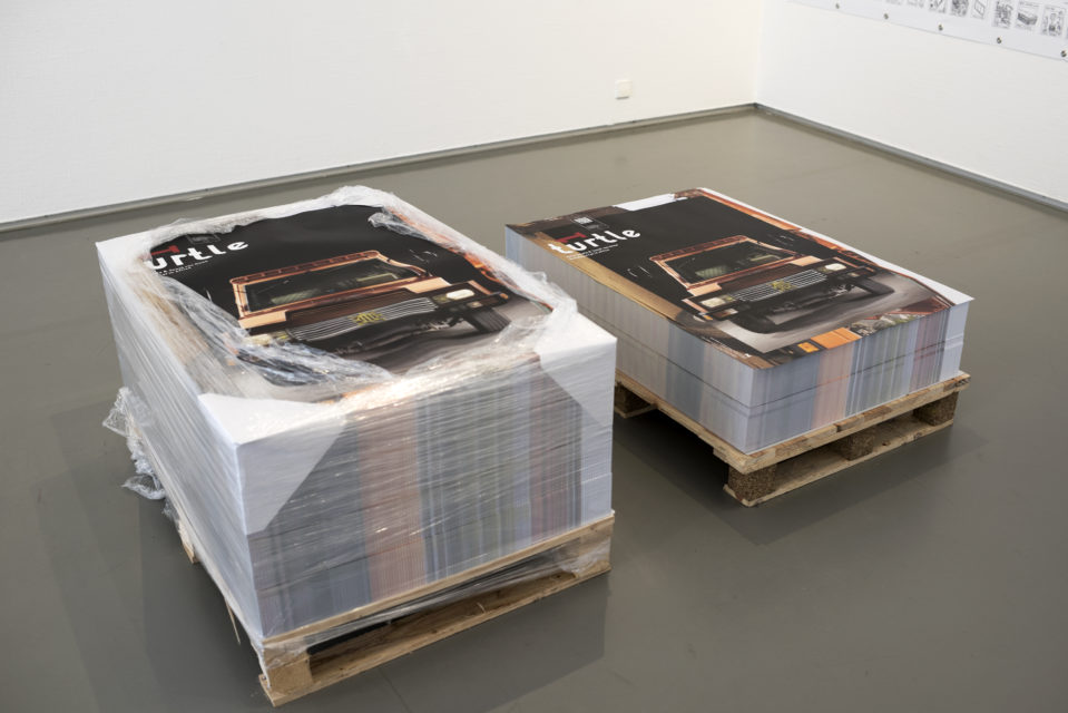 Free Turte 1 Poster, Preview Exhibition, Museum Boijmans van Beuningen, 2016