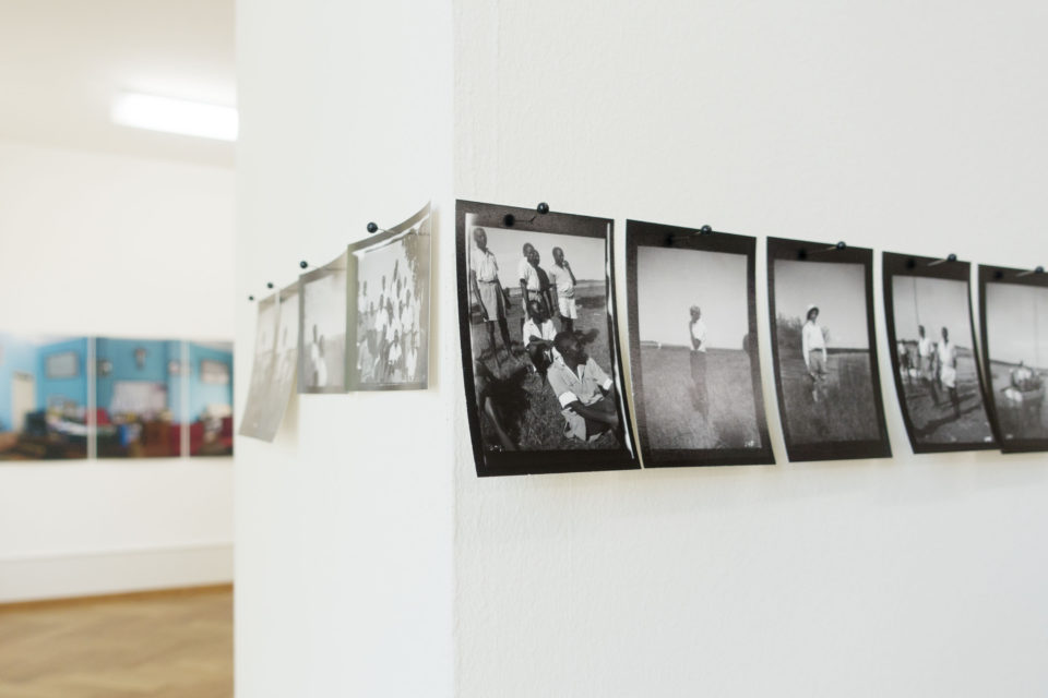 Photos from the Ebifananyi archives at the exhibition 'Flurina Rothenberger / Andrea Stultiens', Pasquart Photoforum, Biel (CH) in 2016.