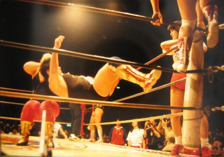 Girls Wrestling, Yokohama, Tokyo, 1986