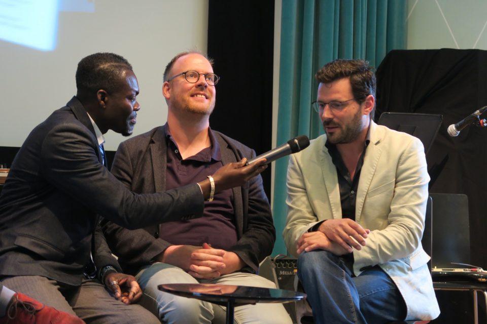 O'neil Amponsah interviews Melle, Joost en Teun