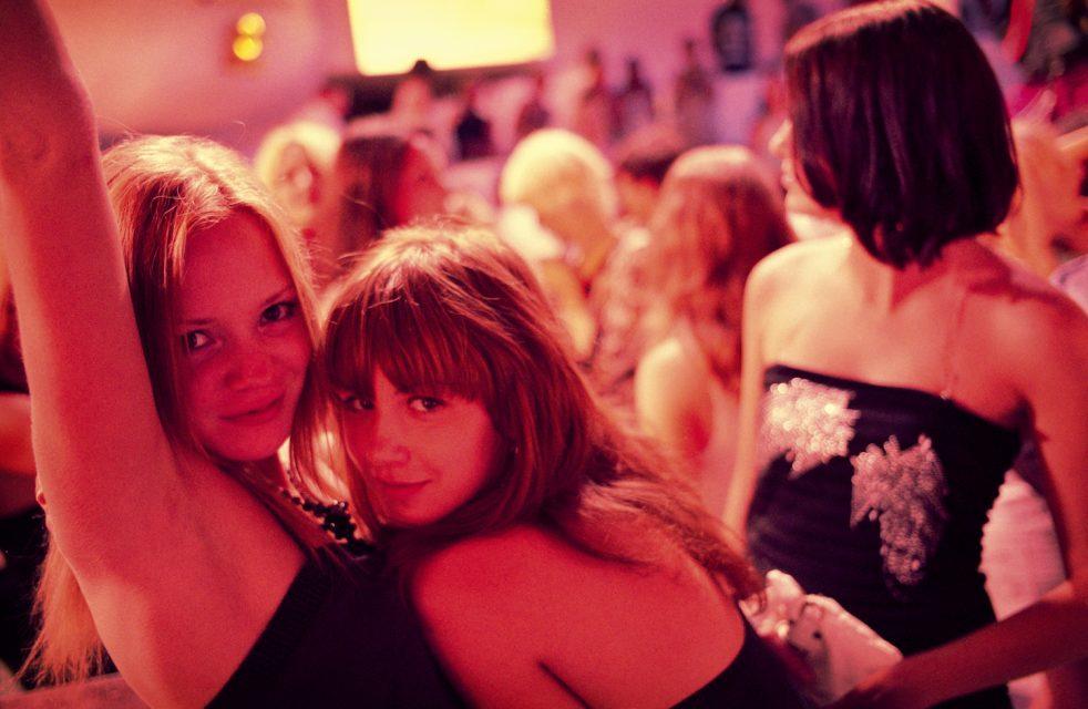 ODESSA, UKRAINE – AUGUST 2007: The Ibiza nightclub along the Arcadia Boulevard, the busiest entertainment area in Odessa.
