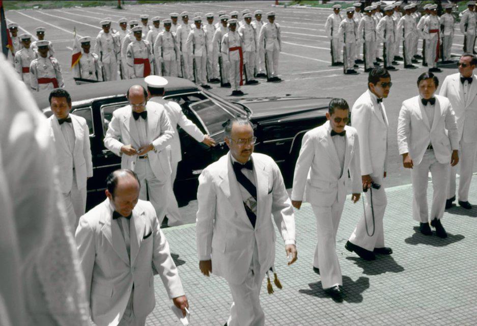 Reframing History, Nicaragua, 2004. Photograph taken in Nicaragua, Managua, 1979.