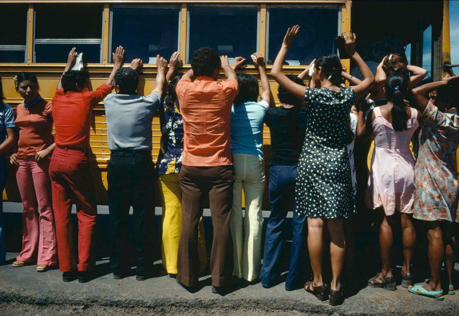 Reframing History, Nicaragua, 2004. Photograph taken in Nicaragua, 1979.