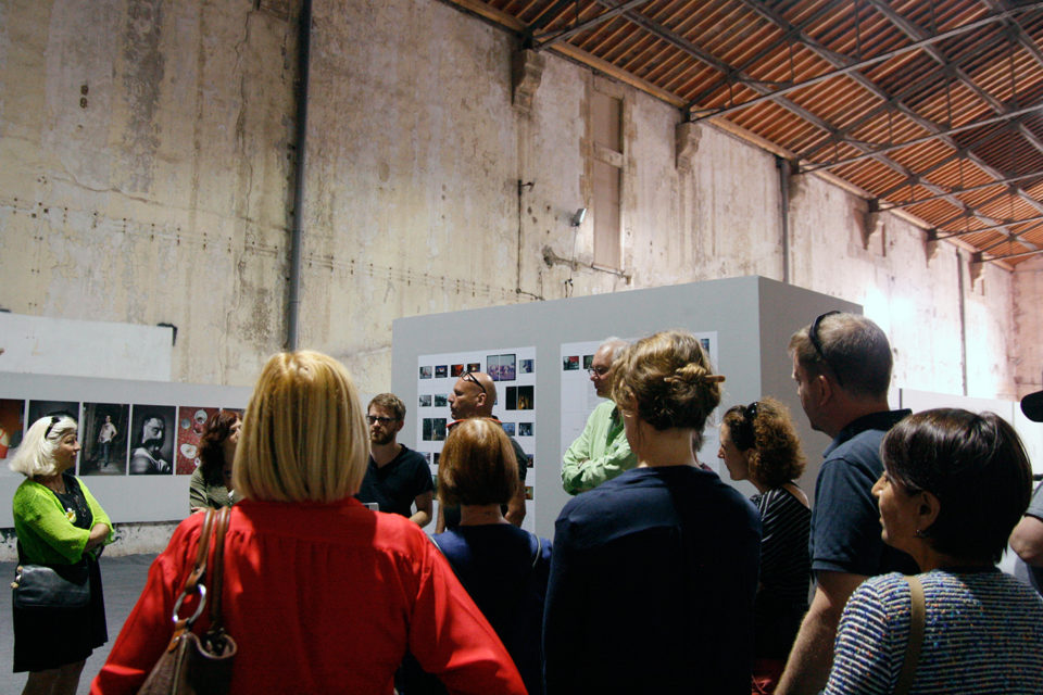 Opening of Oil & Paradise at ImagesSingulières, Sète, May 2015