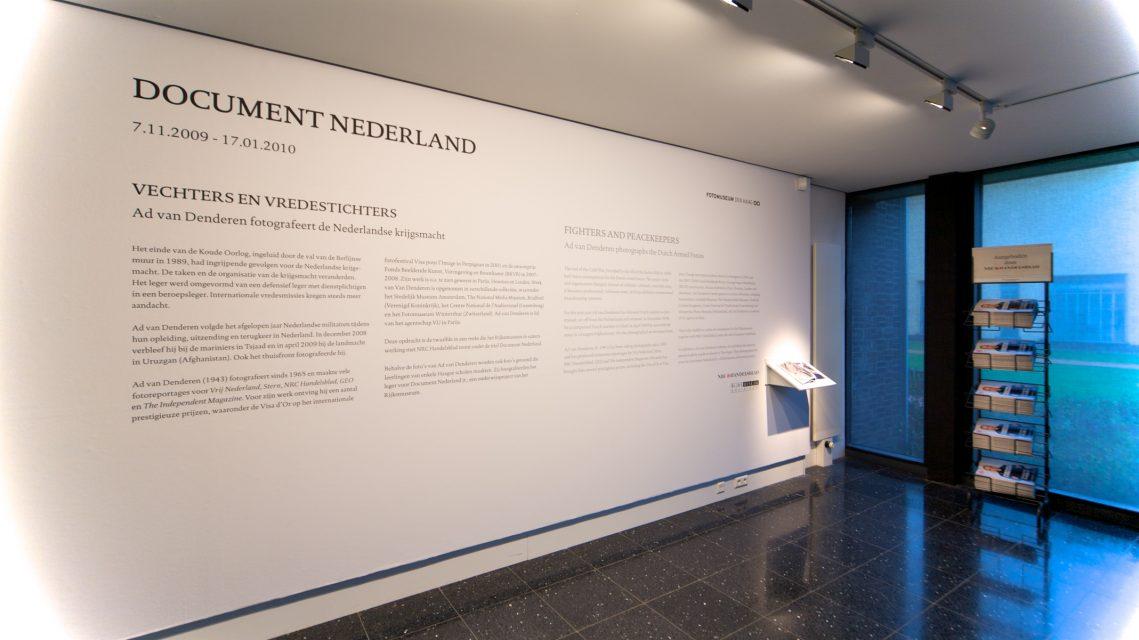 Occupation: Soldier at Fotomuseum Den Haag, 2009.