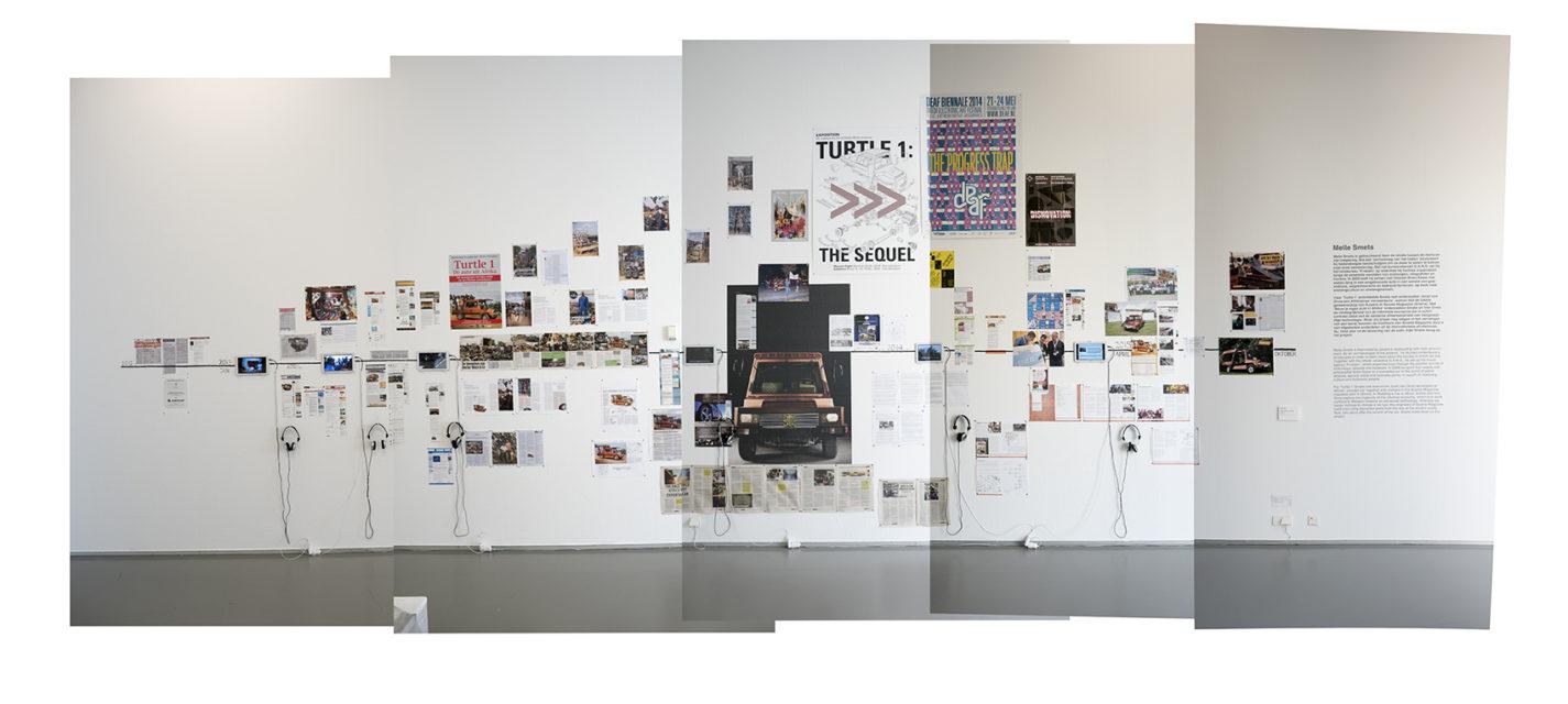 Preview Exhibition, Media-wall, Museum Boijmans van Beuningen, 2016