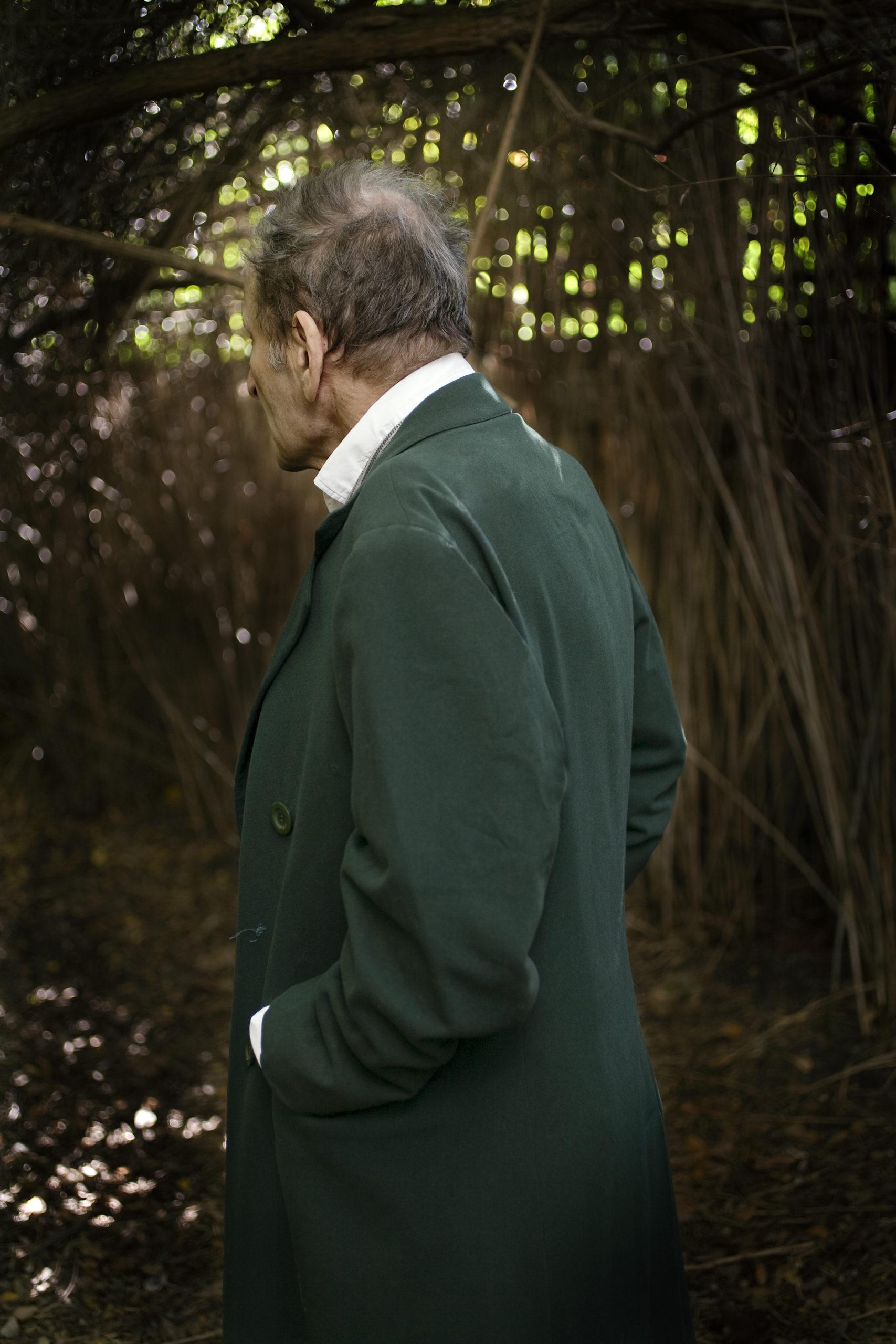 Lucian Freud, London, 2008.