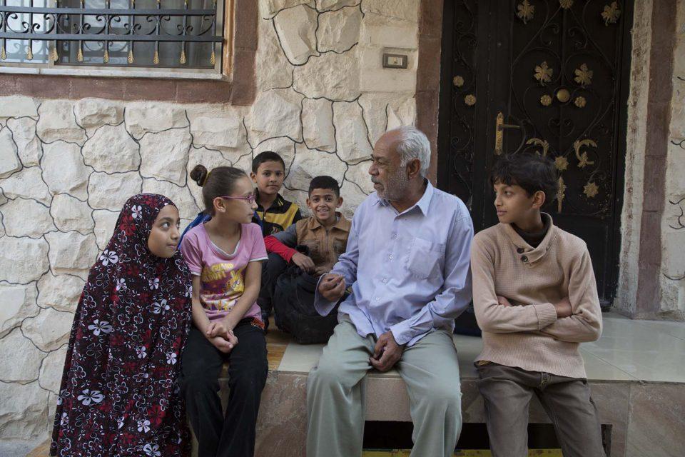 Fakhri Yousef Mohammed  Eltelawi (78) Expelled from: Ghuwayr Abu Shusha, Palestine / Current residence: Baqa'a refugee camp, Jordan