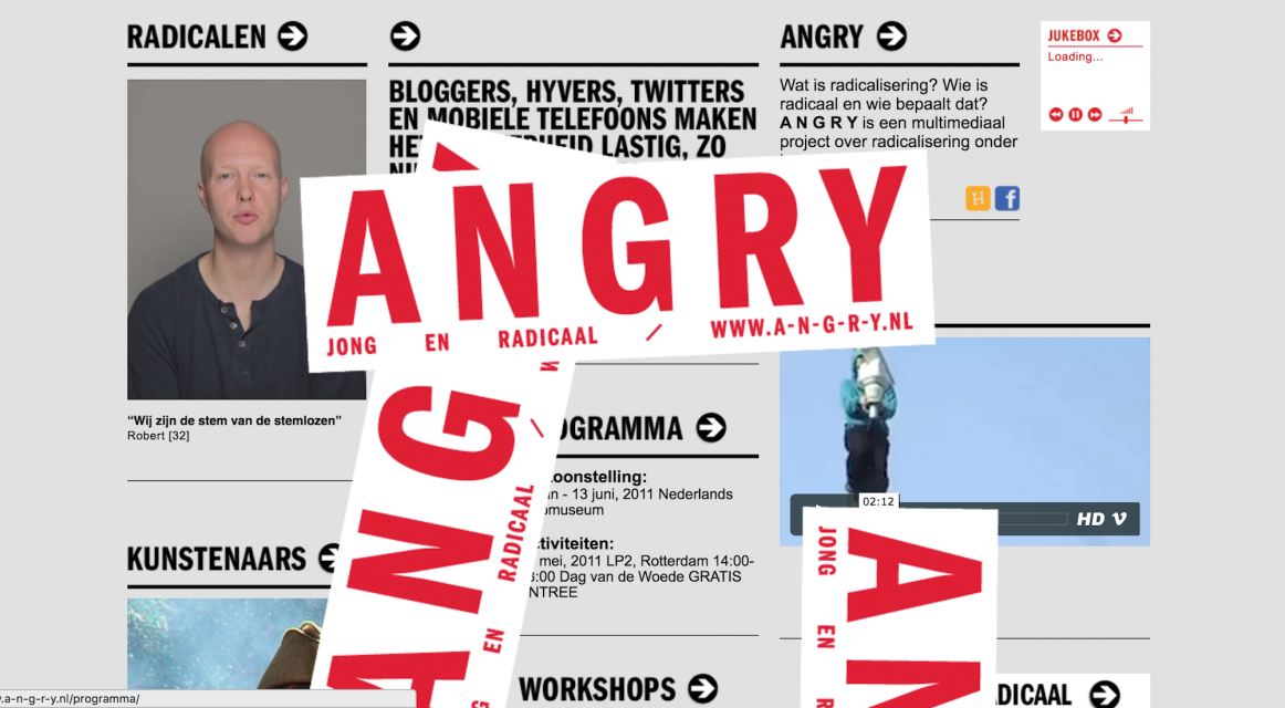 Homepage ANGRY