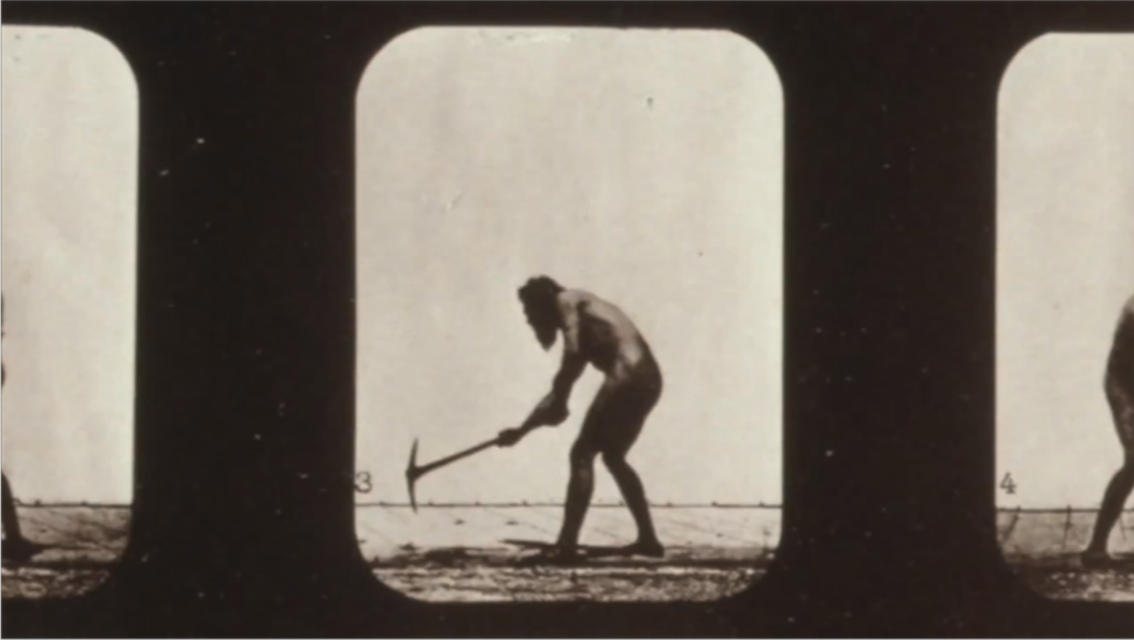 Analogue film still by Eadweard Muybridge