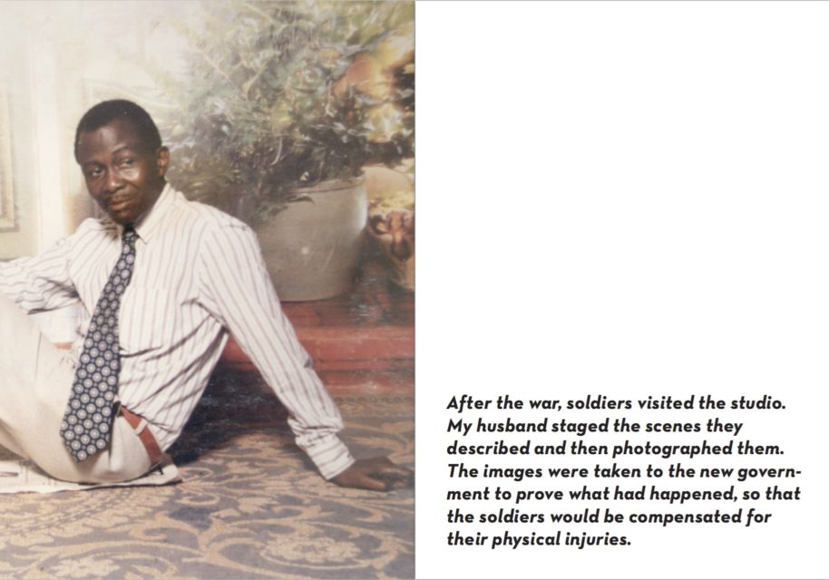 Spread from Ebifananyi I – The photographer - Deo Kyakulagira