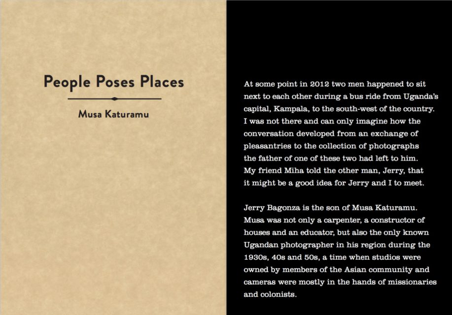 Book cover Ebishushani II – People Poses Places – Musa Katuramu