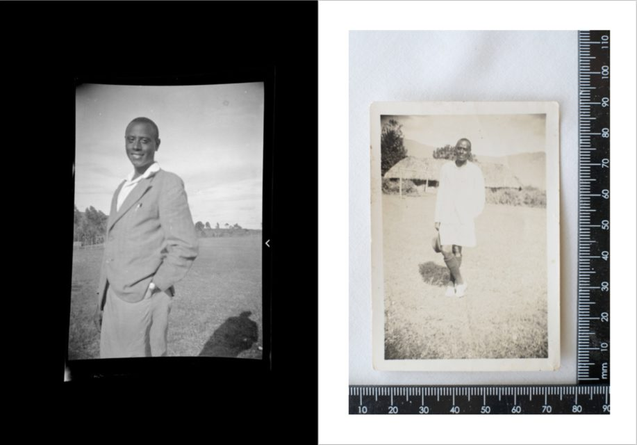Spread from Ebishushani II – People Poses Places – Musa Katuramu