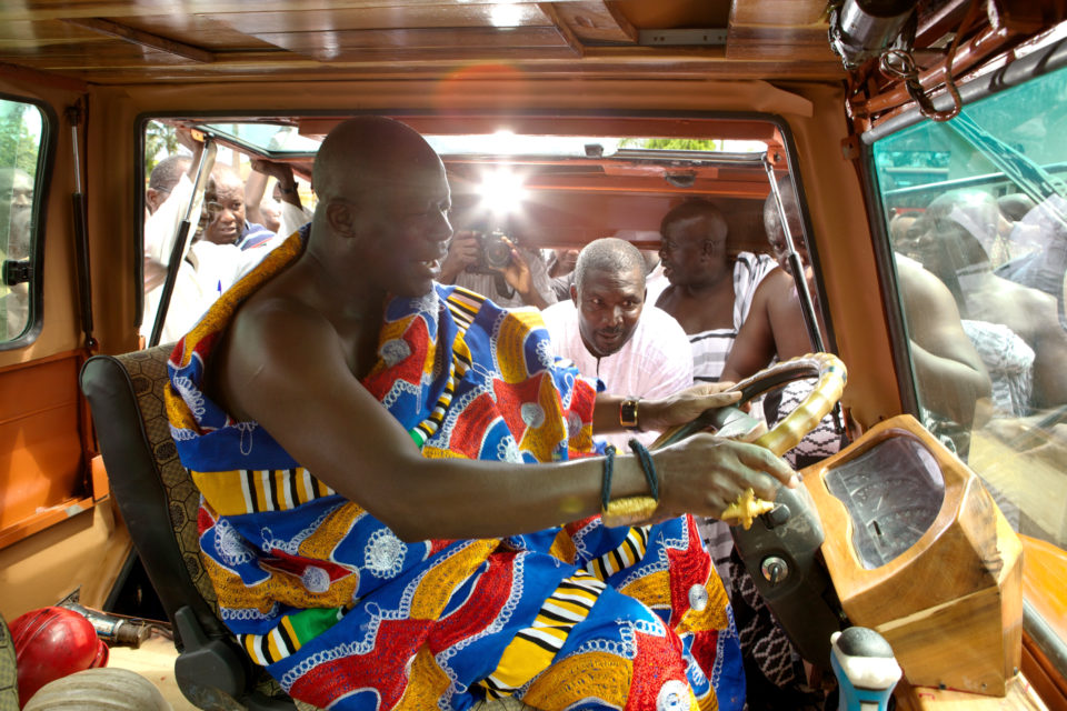 King Otumfuo Osei Tutu II officially inaugurates Turtle 1