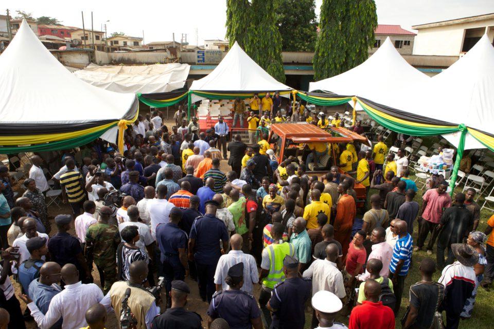 King Otumfuo Osei Tutu II officially inaugurates Turtle 1