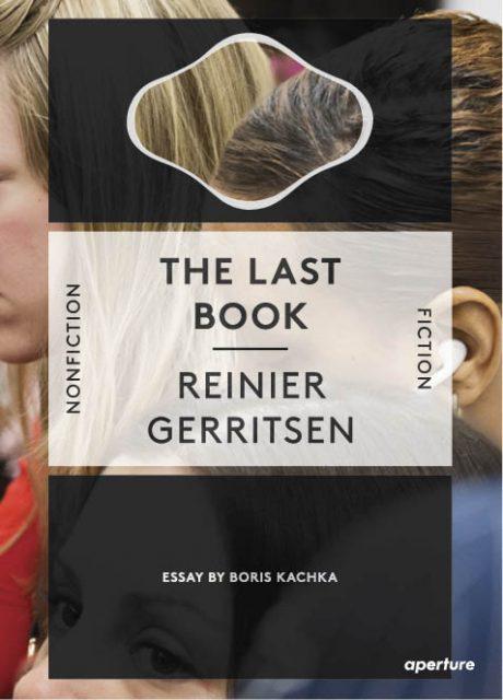 Book cover The Last Book, Reinier Gerritsen. Design: René Put