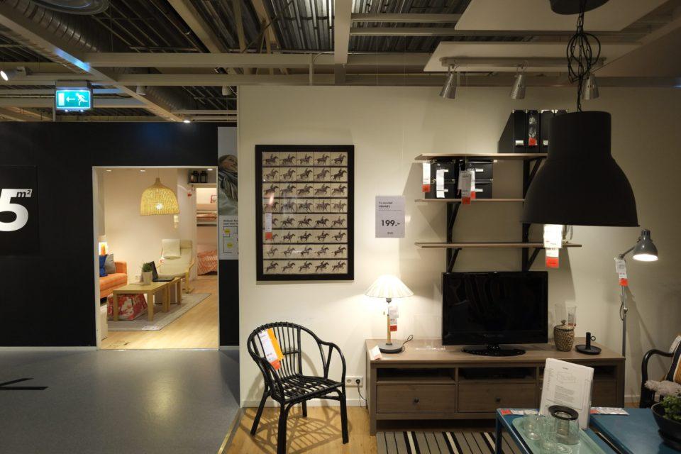 Teerinks research; Muybridge in IKEA