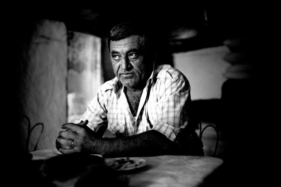 Dord Yol settlement, Azerbaijan, 30-08-2009.