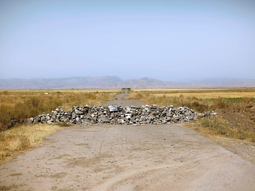 Agdam region, Azerbaijan, 24-07-2011.