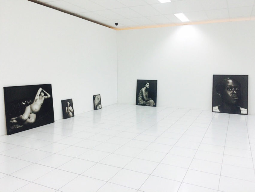 Installing Me We at Kunsthal Citroën, September 2015