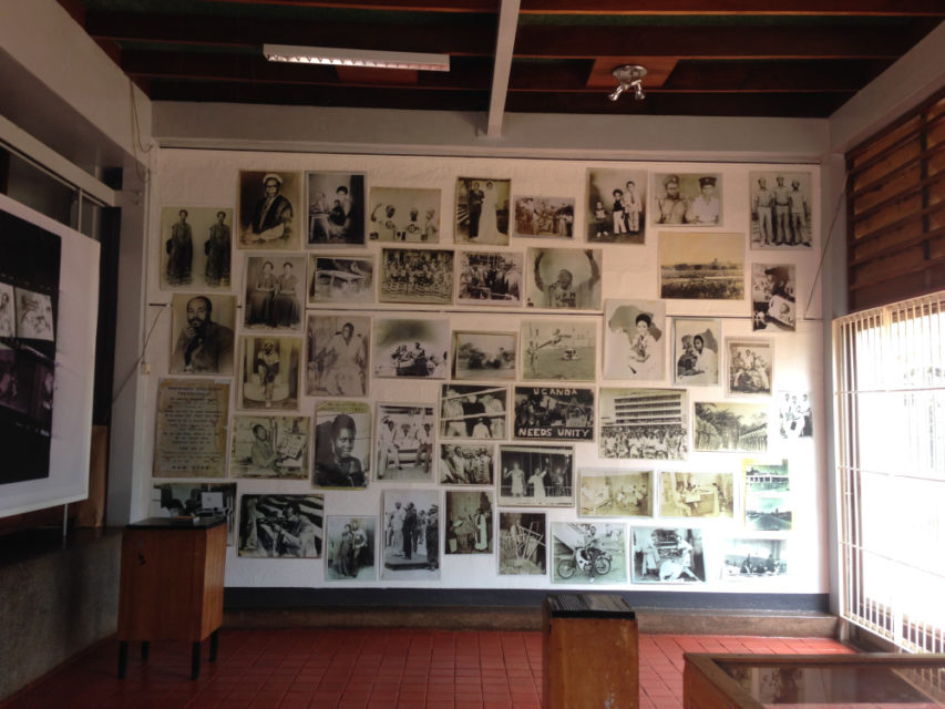 HIPUganda exhibition at Makerere University Art Gallery 2015, dedicated to the presenting work of Musa Katuramu and Elly Rwakoma