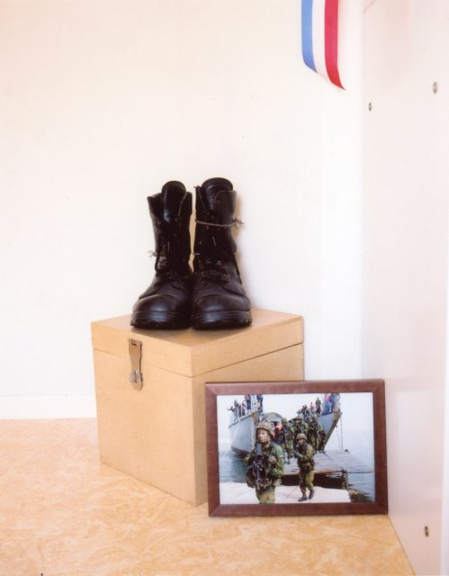 The bedroom of private first class Tim Hoogland, who was killed in Afghanistan // Vroomshoop, 09.06.2009