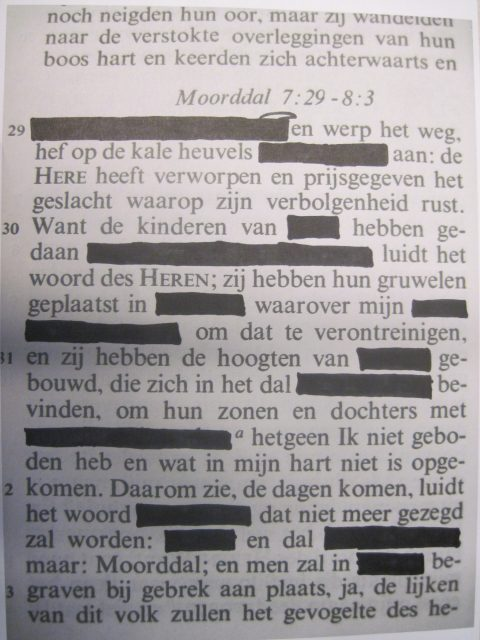 Title: Censuur [Censorship], School: Wolfert van Borselen Bi-lingual, Rotterdam, Group: TH4E, Made By: Bryan, Shiwa, Abdelkarim, Jelle, Nathaniel