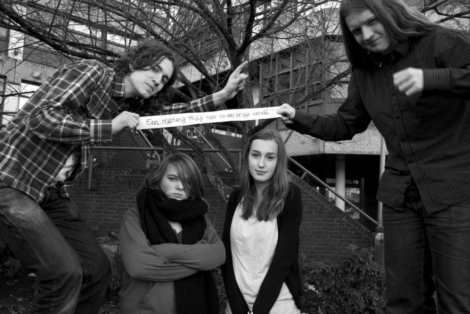 Title: Censuur [Censorship], School: Wolfert van Borselen Bi-lingual, Rotterdam, Group: TH4E
