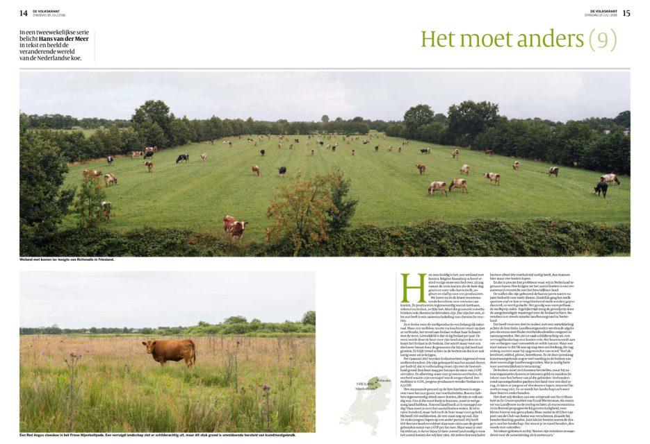 Het moet anders #9, De Volkskrant, 19 July 2016