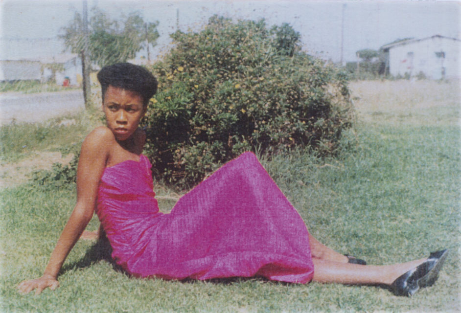 Portrait of Patricia Tlhone in Thabong, 1988