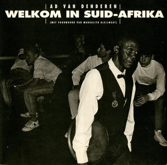 Book cover Welkom in Suid-Afrika