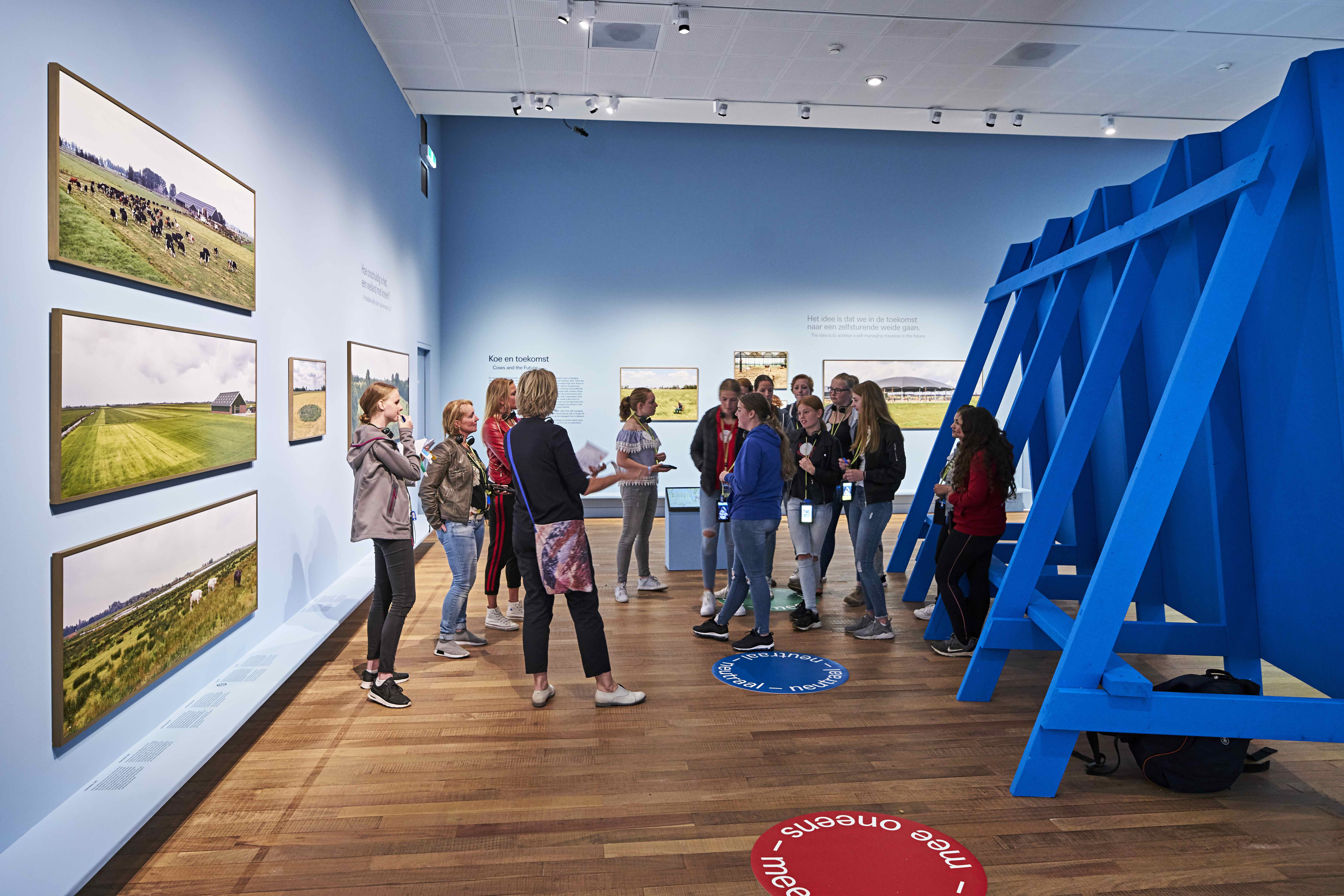 The exhibition is accompanied by an audiotour and an educational programme.