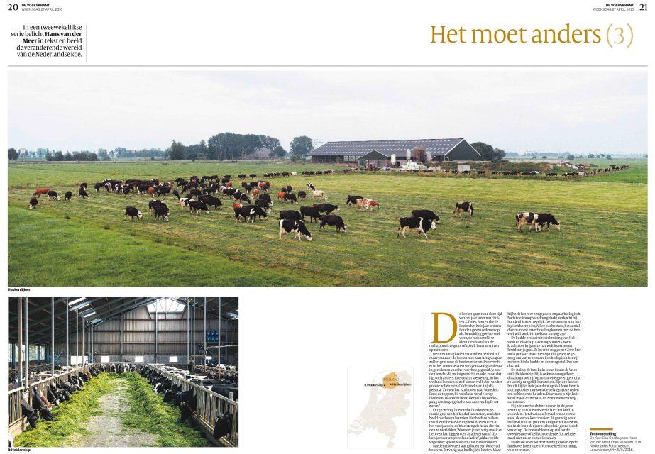 Het moet anders #3, De Volkskrant, 27 April 2016
