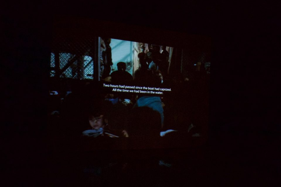 Still from Borders Kill at Benaki Museum, Athens
