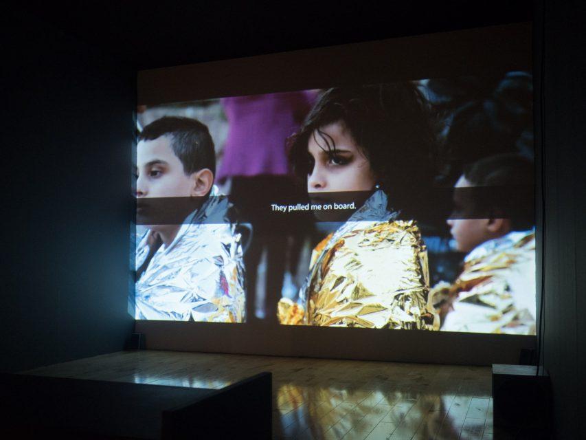 Still from Borders Kill at Benaki Museum, Athens