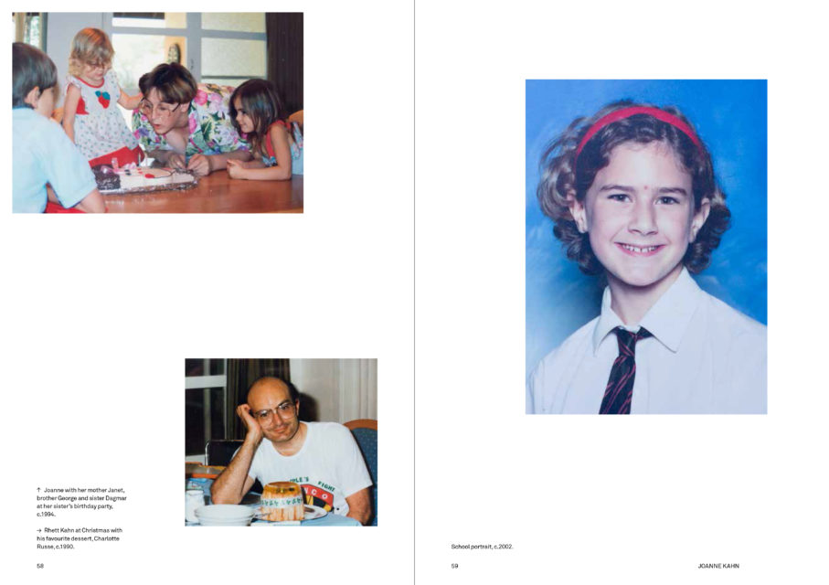 Spread from the photo book Welkom Today, English edition