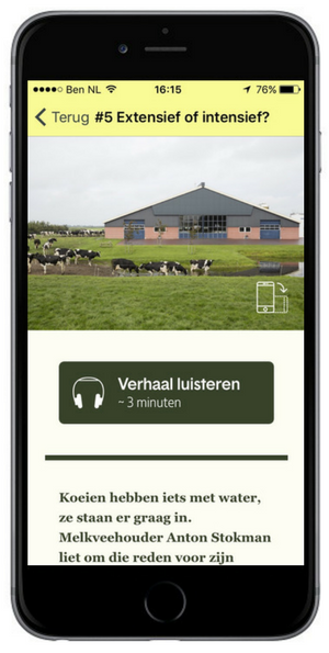 App users can read and listen all the stories by Hans van der Meer on the app