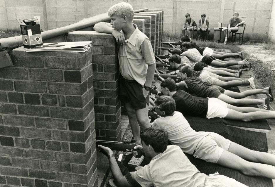 Afrikaner grammar school, Welkom, South-Africa, 1990