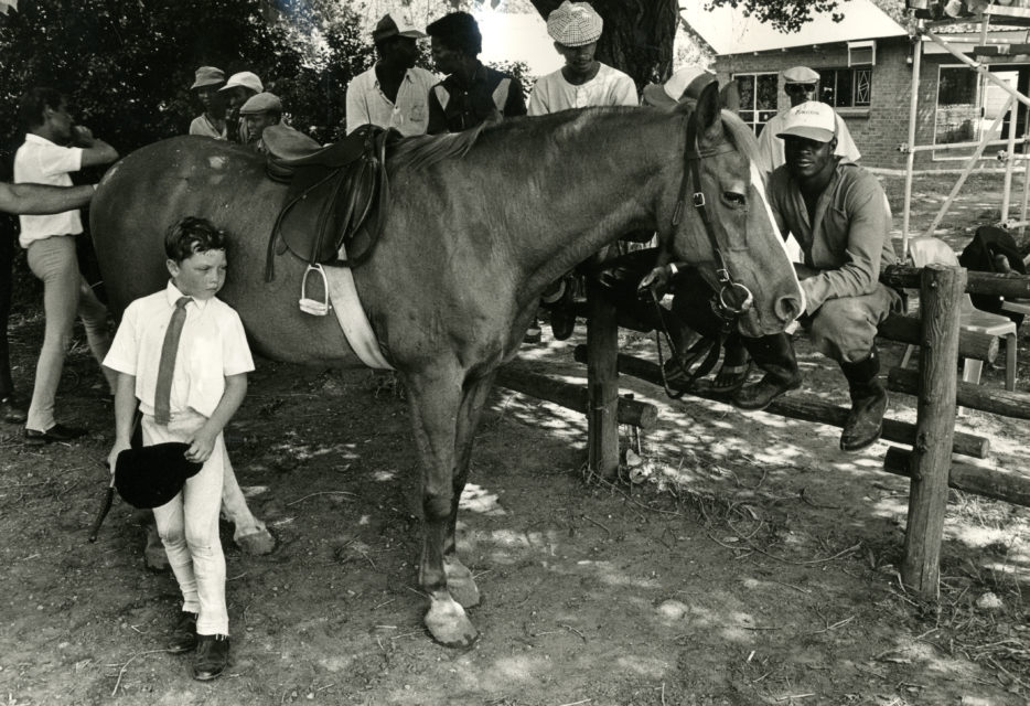 Horse show, Welkom, South-Africa, 1990